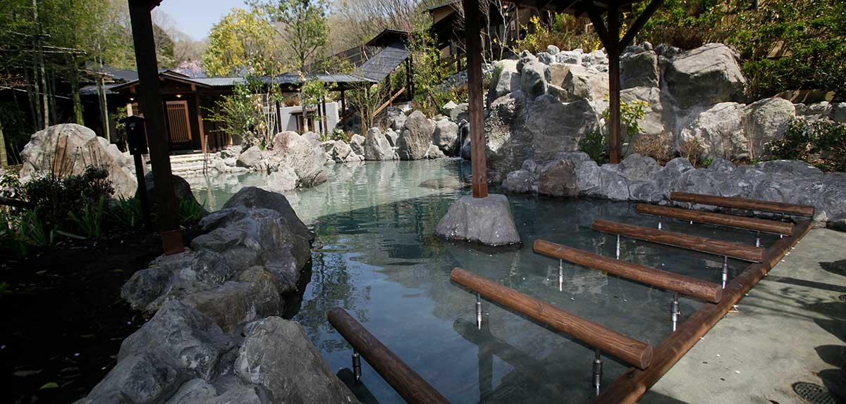 寝湯|温泉|スパ - 延羽の湯 閑雅山荘 -|NESTA RESORT KOBE