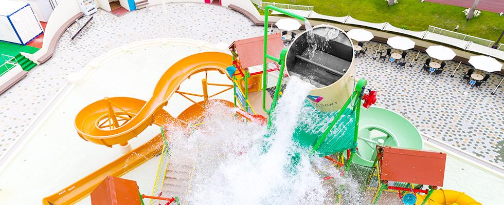 水の楽園|プール(ウォーターフォート)|子供も遊べる関西最大級の ...